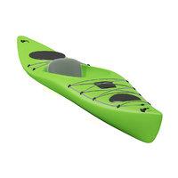 green canoe 3D model