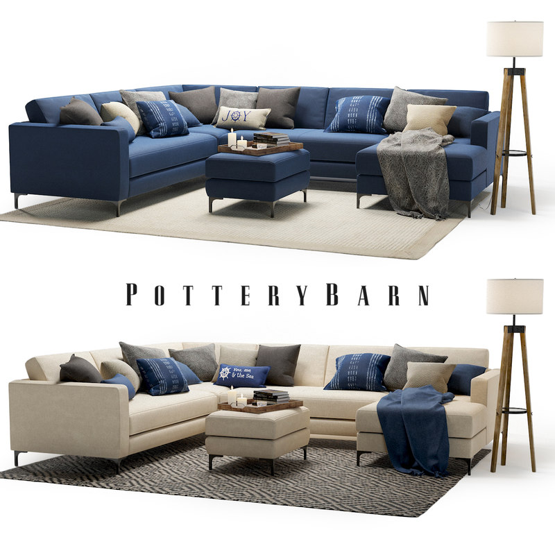 set pottery barn jake model