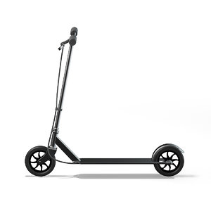 3D model metal scooter