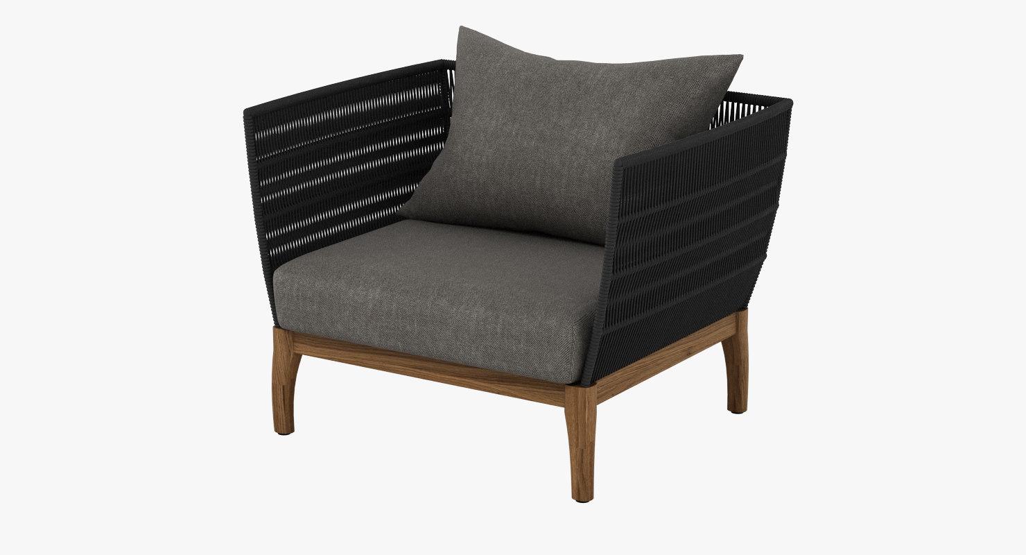lambert miikka chair 3D