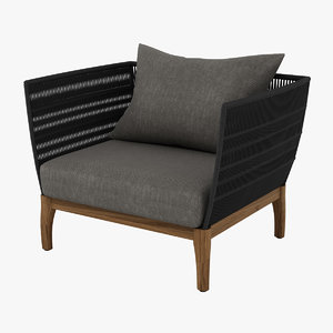 lambert miikka chair 3D