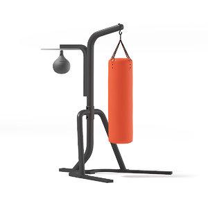 punching bag 3D model