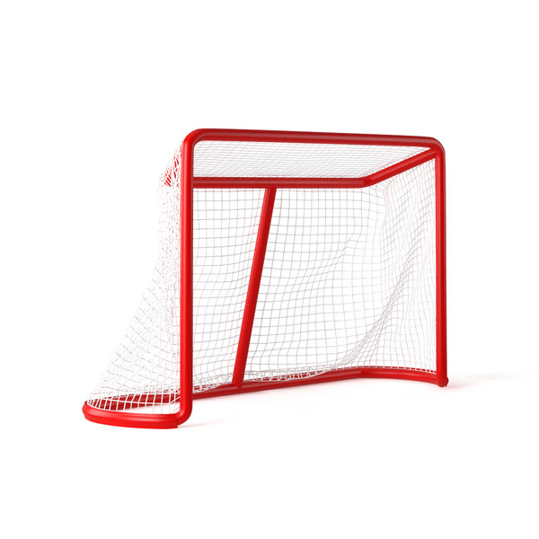 hockey goal net 3D model