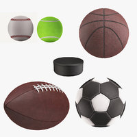 3D sport ball model