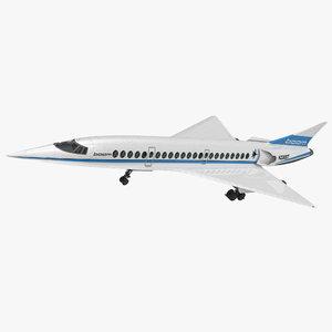 3D boom supersonic jet