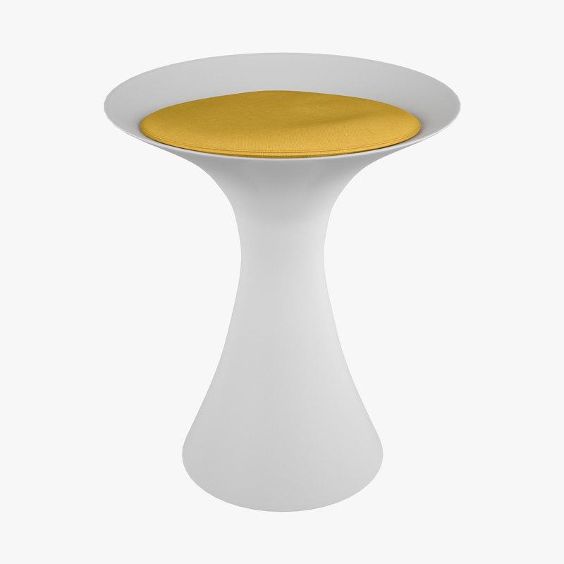 3D kale stool