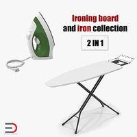 Ironing Board and Iron Collection