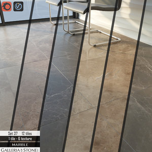 tile galleria stone italy 3D model
