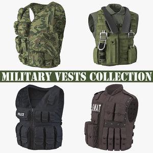 3D military vests