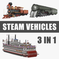 steam vehicles model
