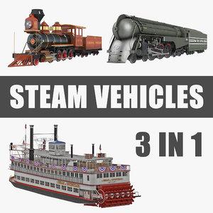 steam vehicles model