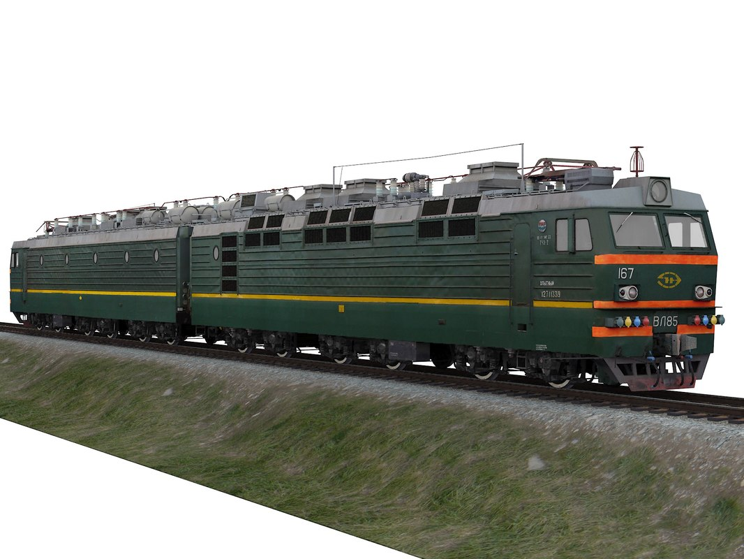 locomotive vl85 3D model