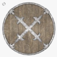 shield viking dark 3D