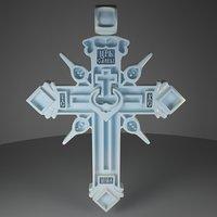 3D cross kievan rus