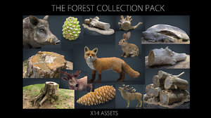 forest pack tree 3D model