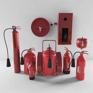 3D firefighting model