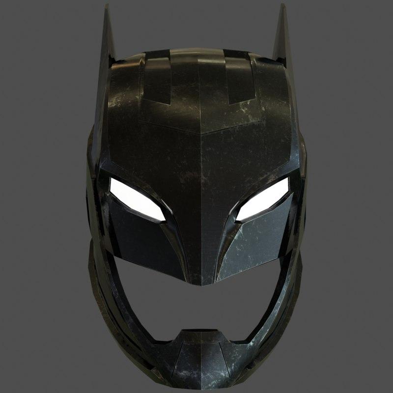 batman mask 3D model