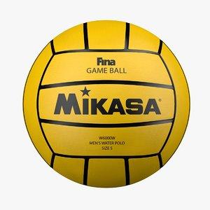 3D water polo ball