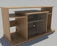 3D tv furniture table model
