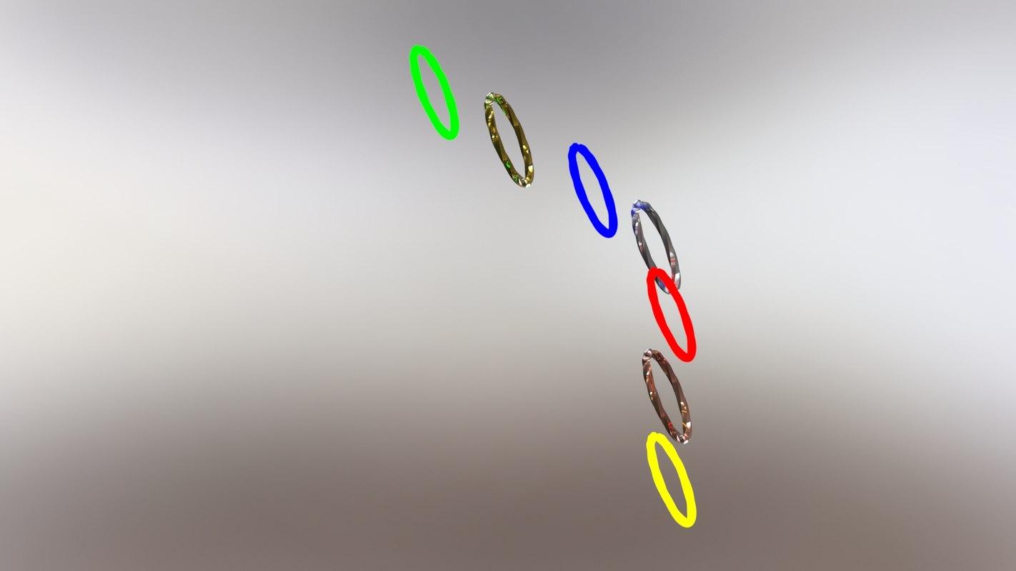 3D solidwork metal model
