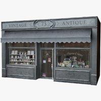 Typical Paris Facade Vintage