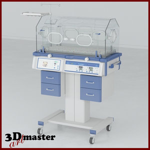 incubator medical equipment 3D model