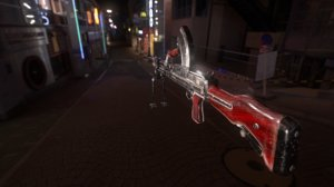 3D model bren gun