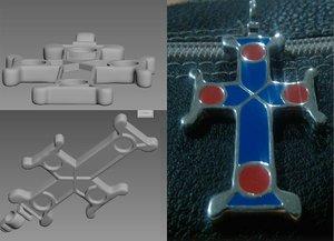 cross kievan rus 3D