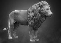 lion zbrush 3D model