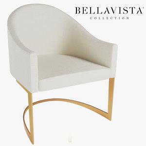 bellavista corinne chair 3D model