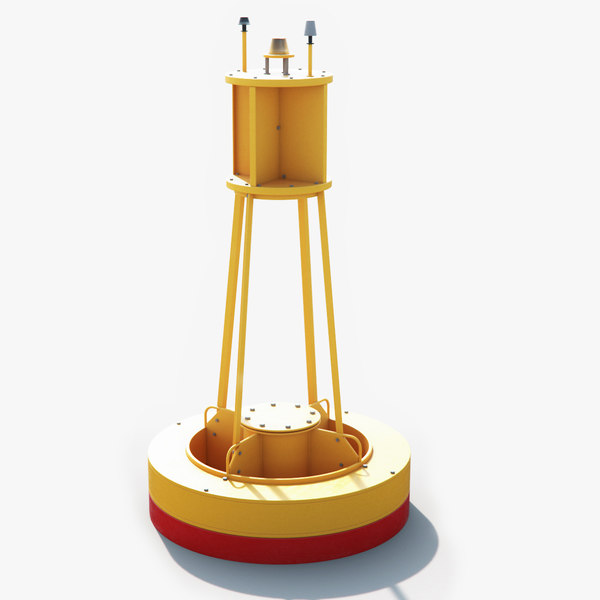 sea buoy 3D model