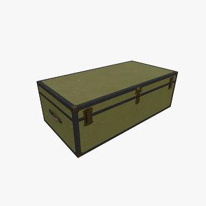 3D box ready pbr model