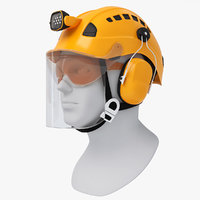 professional helmet work height model