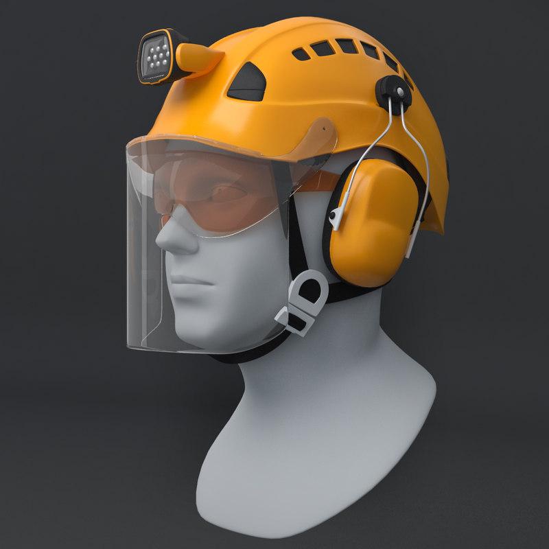 professional helmet work height model