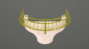 3D luxury balcony