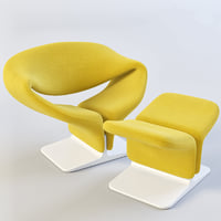 3D chair paulin