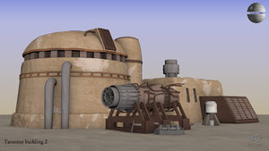 tatooine house starship model