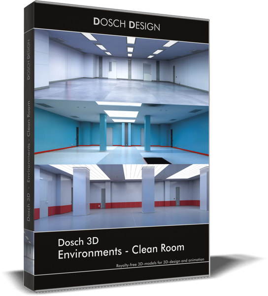 3D environments - clean room