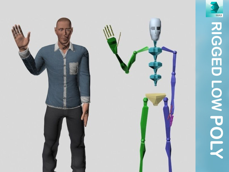 rigging character model