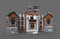 lego house estate 3D