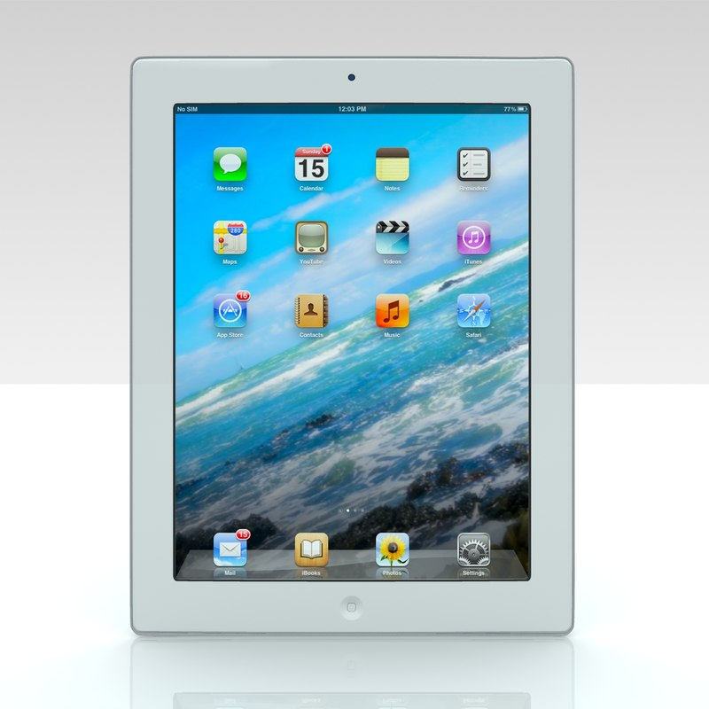 3D ipad apple