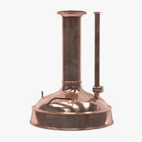 3D brewing copper model