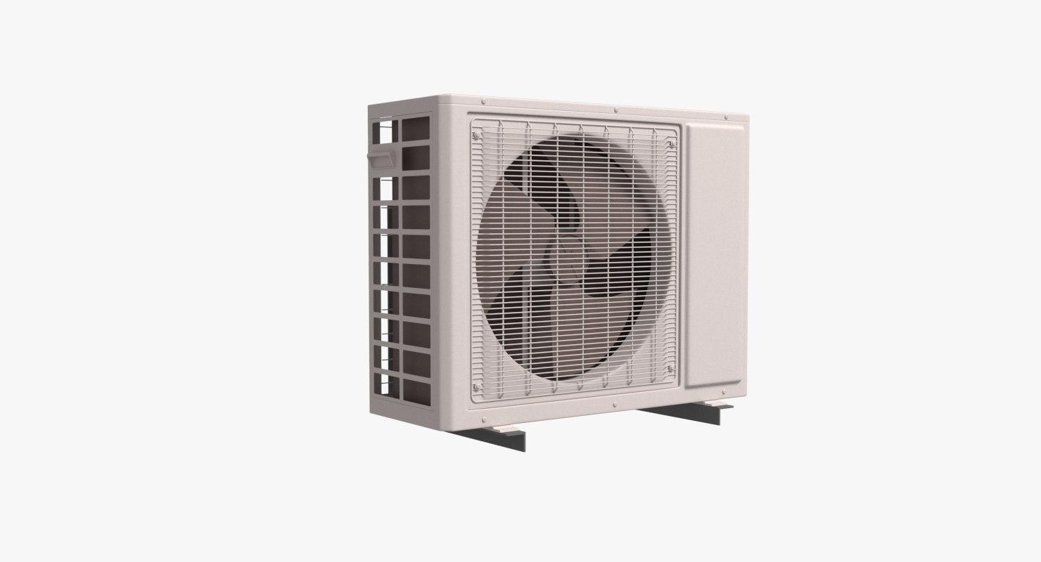 air condition outdoor unit 3D model