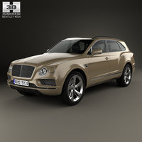 3D bentley bentayga 2016