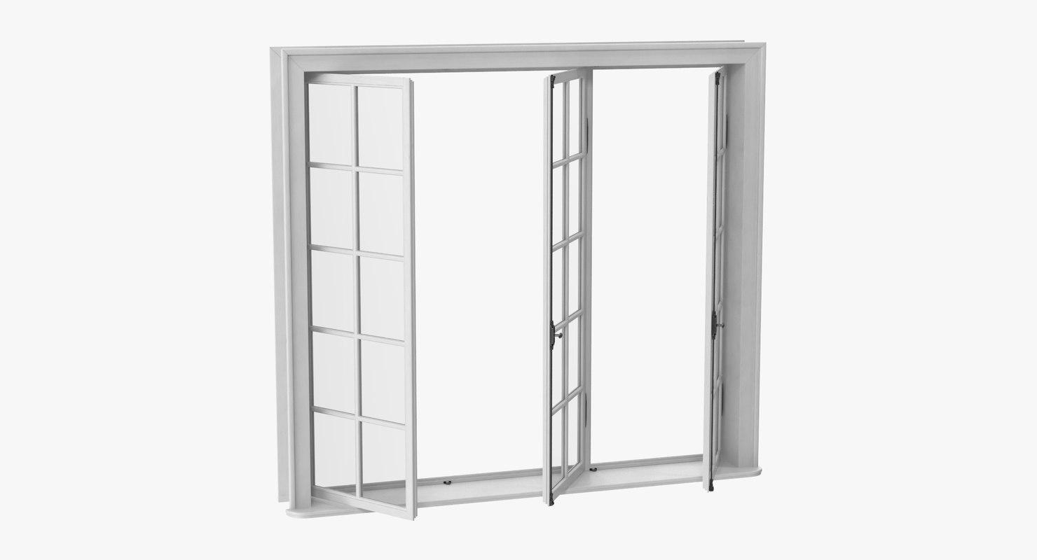 classic window 05 half 3D