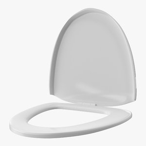 closed toilet seat model
