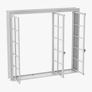 classic window 05 open 3D