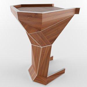 3D speech stand