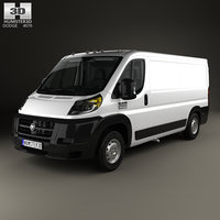 Dodge Ram ProMaster Cargo Van L2H1 with HQ interior 2013