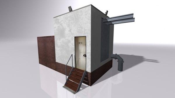 3D pump station buildings